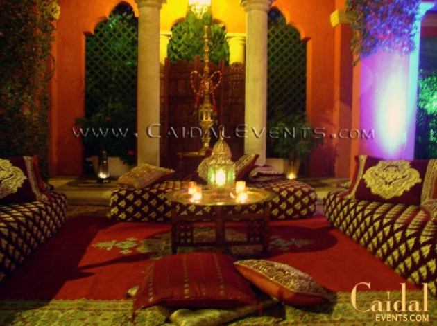 Moroccan Theme Corporate Party At Thomas Kramer Residence
