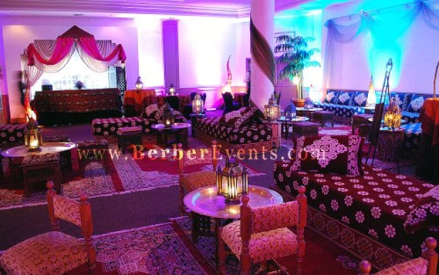 Debutante Goes Arabian Nights & Moroccan Theme at Michael ...