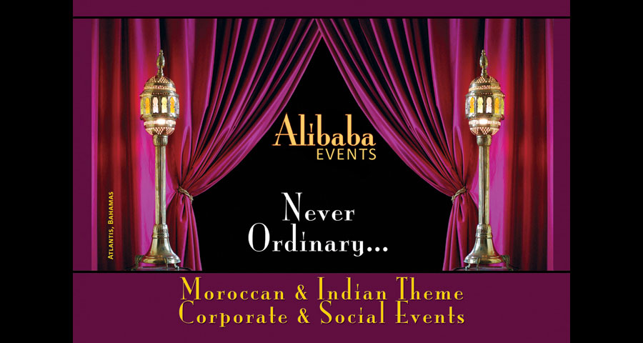 Alibaba Moroccan Events Home at Atlantis Hotel