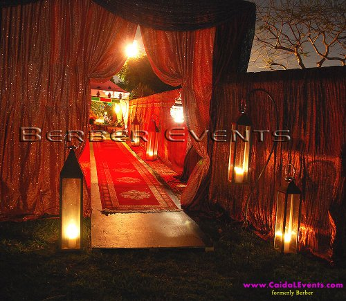 Moroccan Themed Birthday Party in a Private Residence ...