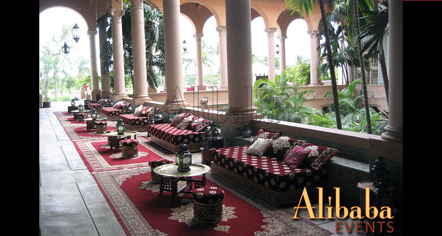 Moroccan Party at the Biltmore Hotel Miami