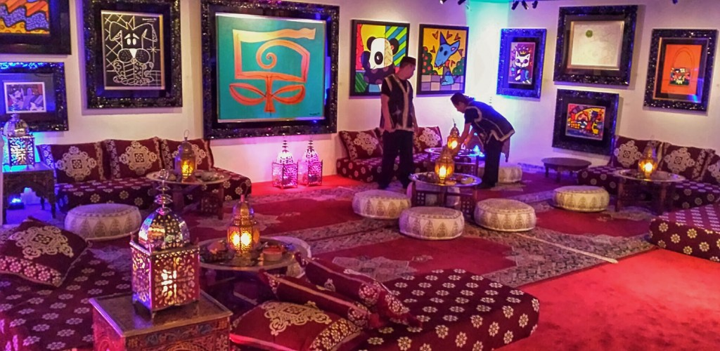 Britto Meets Morocco A Moroccan Theme Birthday Party In