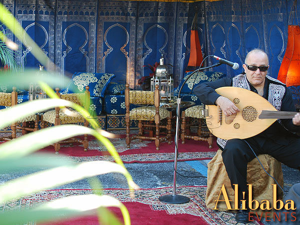 Live Oud Player - Moroccan Musician