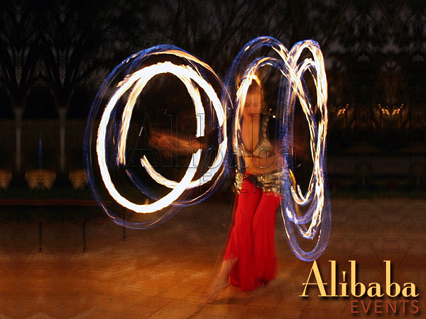 Fire Dancer: Luna