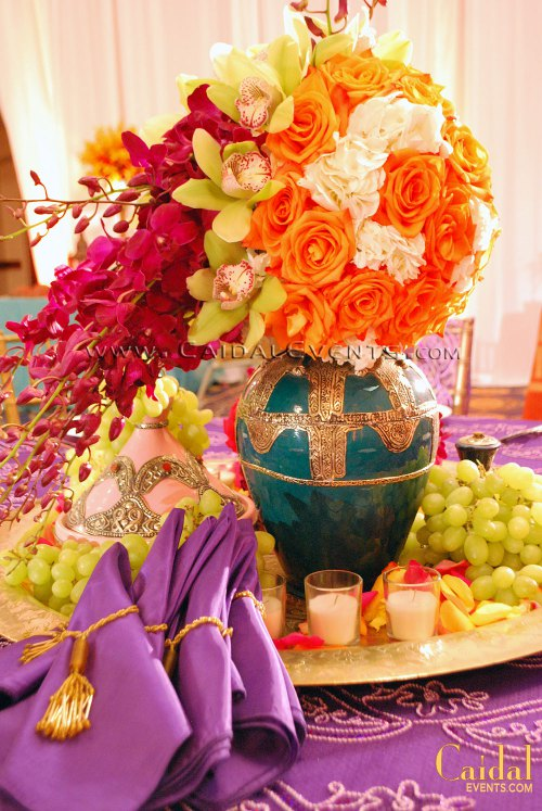 Moroccan theme centerpieces ideas for social private or for Arabian nights decoration ideas