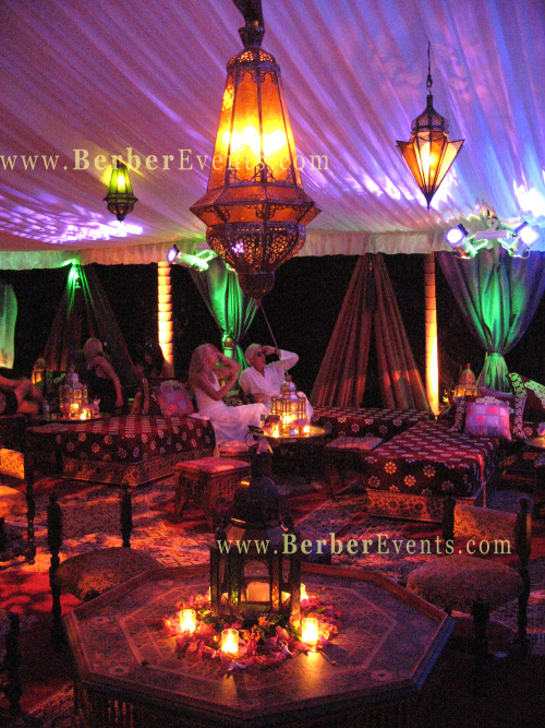 Lavish Moroccan Tent Wedding In A Palm Beach Island