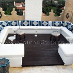 White Moroccan Roof Party, Palm Beach Island
