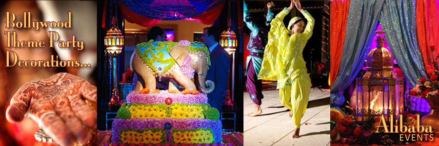 Bollywood Indian Themed Party Decor