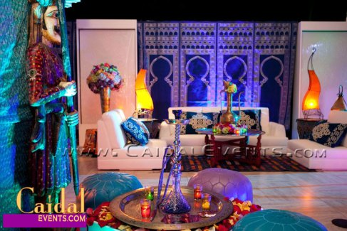 White Moroccan Theme Party | Alibaba Events: Moroccan and ...
