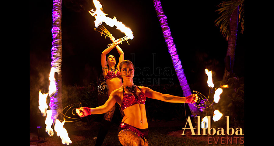Fire Dancers by Alibaba Events